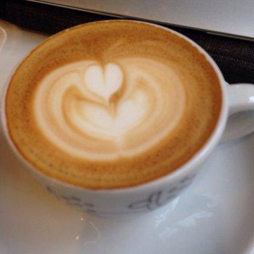 Coffee at La Boheme Cafe